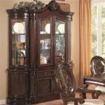 MC101BH034-CO RICH CHERRY TRADITIONAL CHINA CABINET