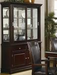 MC101BH634-CO WALNUT FORMAL DINING ROOM BUFFET WITH HUTCH