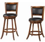 "MC101BS919-CO DARK EXPRESSO 24""H SWIVEL BAR STOOL"