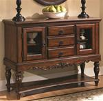 MC103BS515-CO CHERRY TRADITIONAL THREE DRAWER BUFFET SERVER