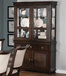 MC104BH114-CO DEEP RICH CHERRY DINING BUFFET WITH HUTCH