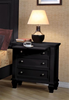 MCB201BR322-CO CLEARANCE BLACK NIGHTSTAND