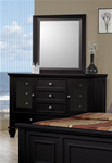 MCB201BR323-CO CLEARANCE BLACK DRESSER