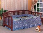 MCDB480BR9-CO CHERRY SLATTED SLEIGH DAYBED
