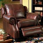 MCLR500RE663-CO BURGUNDY PUSH- BACK RECLINER