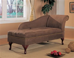 MCLR550SL068-CO BROWN CHAISE LOUNGE