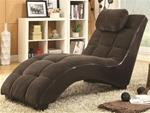 MCLR550CL080-CO CHOCOLATE CHAISE LOUNGE