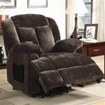 MCLR600RE173-CO CHOCOLATE POWER LIFT RECLINER