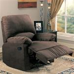 MCLR600RE266-CO CHOCOLATE RECLINER