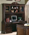 MC800HO801-CO RICH BROWN FINISH HOME OFFICE DESK