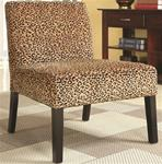 MCLR900AC184-CO LEOPARD PATTERN ACCENT CHAIR