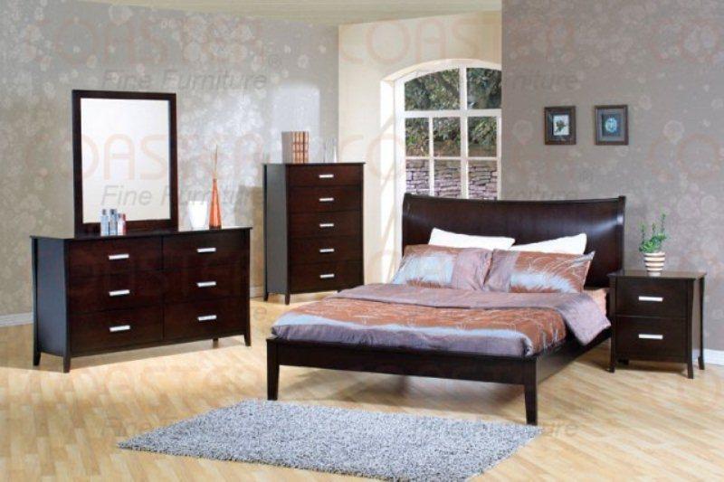 mcb200br300qb co queen platform cappuccino bed set